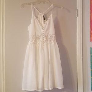 White Lace eyelet dress